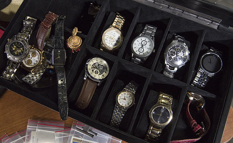 A box of watches