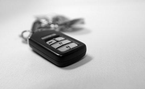 Keychain with car key fob