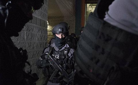 A man in TPS tactical uniform