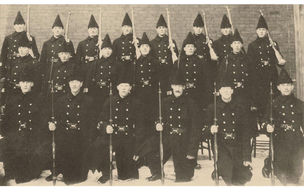 A group of men in uniform