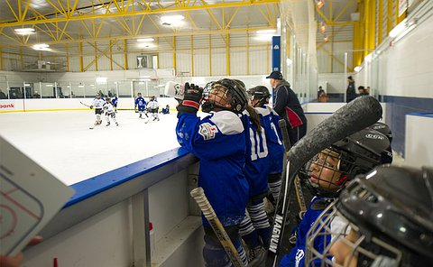 Image result for drink water kids hockey