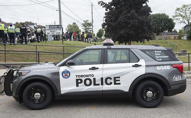 A police SUV