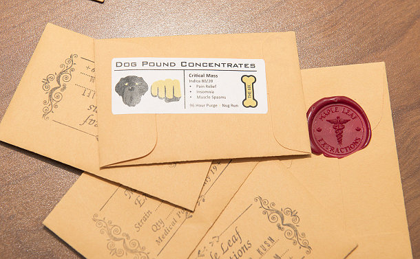Paper envelopes with logos