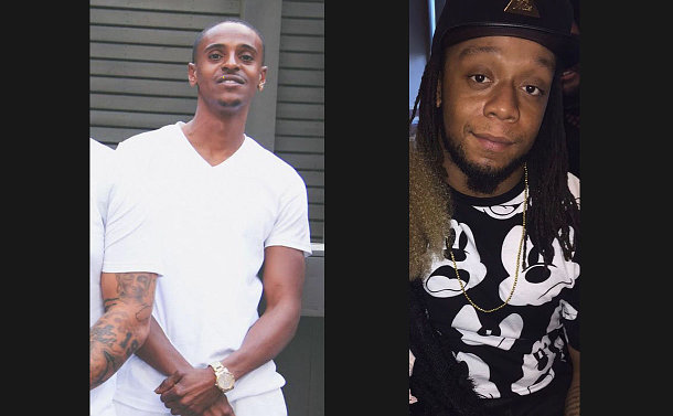 Photos of two man - victims in the homicide