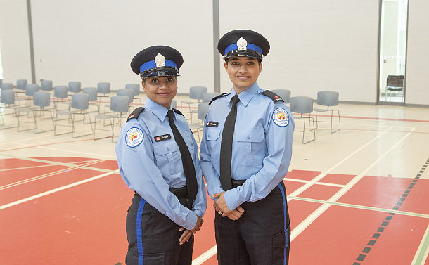 Two women in TPS special constable uniform