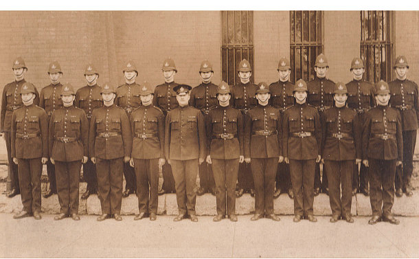 A group of officers