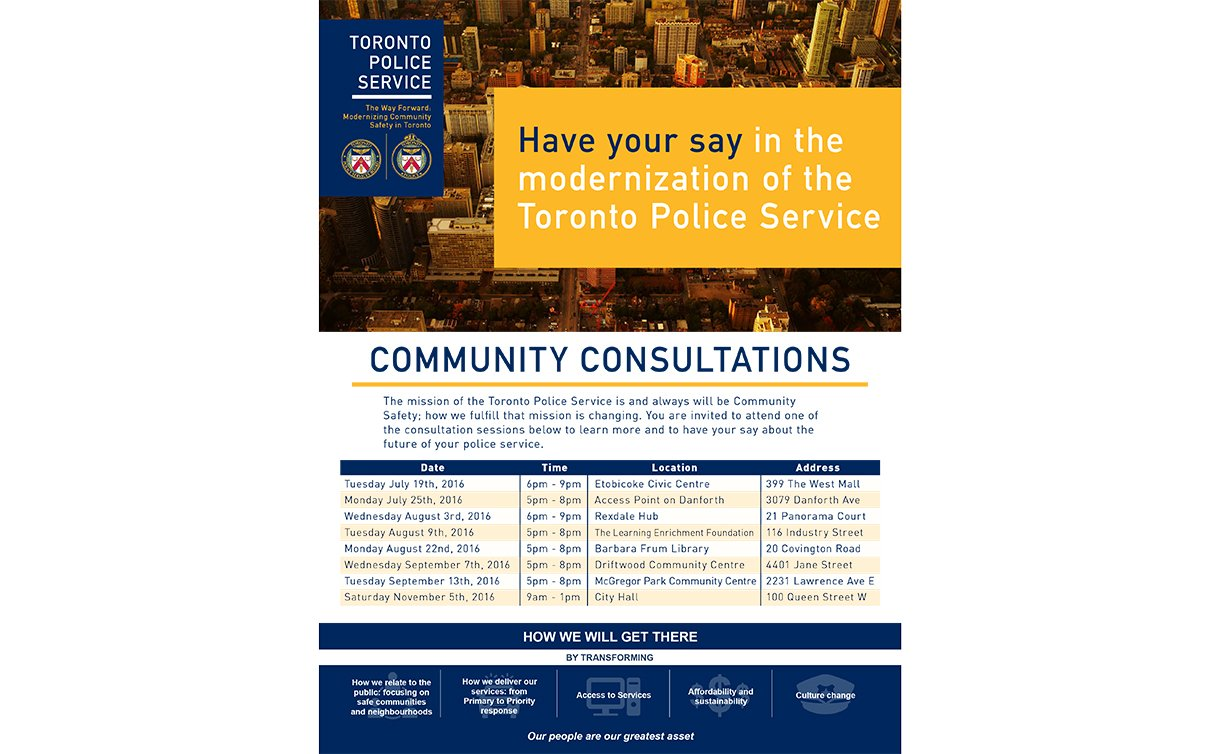 A TTF flyer with a skyline view and TPS, TPSB logos. Text: 