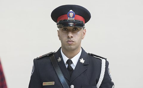 A man in TPS uniform