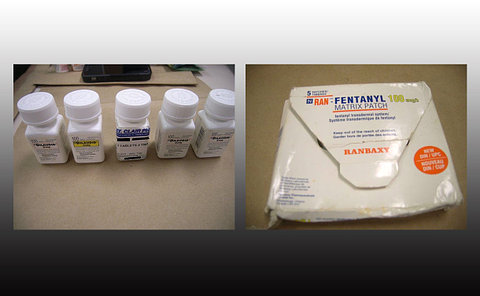 Prescription drug bottles and packaging