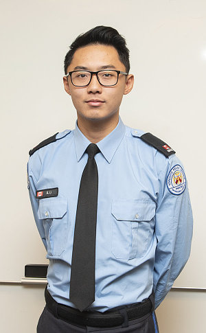 A man in TPS parking uniform
