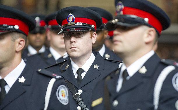 A man in TPS uniform