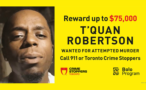 An image of a man's face with $75,000 Reward for his arrest